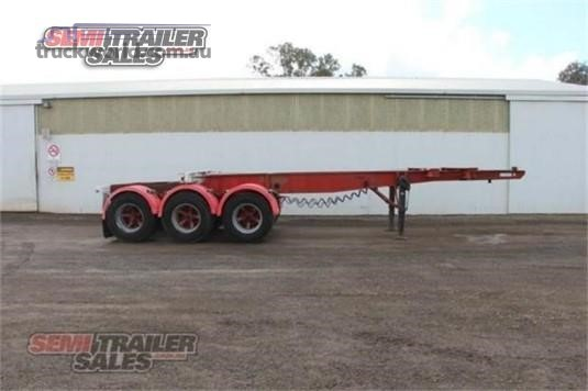 1985 Freighter Skeletal Trailer - Trailers for Sale