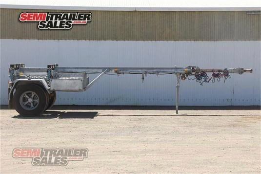 Custom Log Jinker Trailer Semi Trailer Sales Pty Ltd - Trailers for Sale
