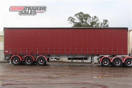 2002 Krueger Curtainsider Trailer Semi Trailer Sales Pty Ltd - Trailers for Sale