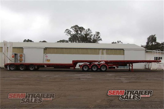2011 Barker Drop Deck Trailer Semi Trailer Sales Pty Ltd - Trailers for Sale