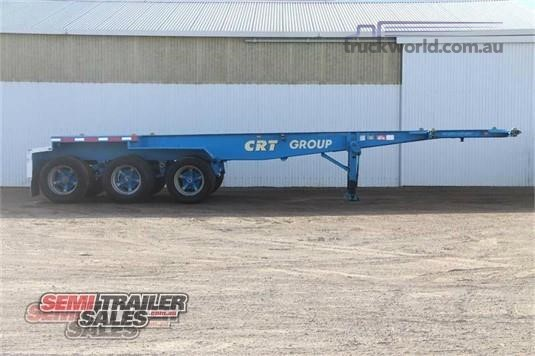 1992 Barker Skeletal Trailer - Trailers for Sale