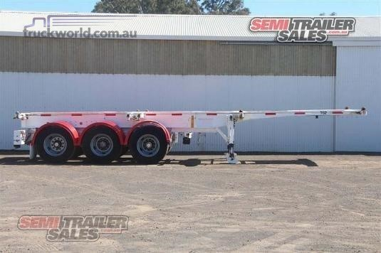 2008 Cimc Skeletal Trailer - Trailers for Sale