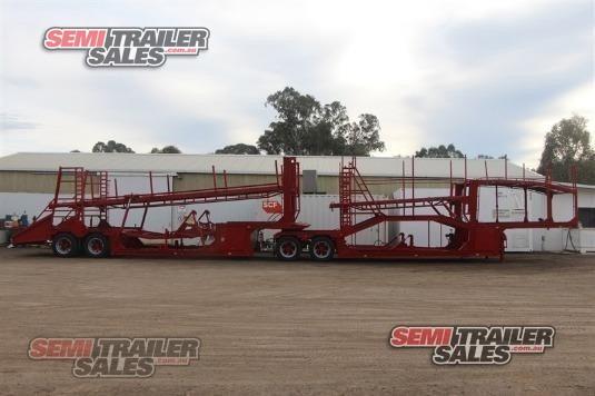 2013 Custom Car Carrier Trailer Semi Trailer Sales Pty Ltd - Trailers for Sale