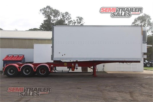 1998 Maxi Cube Refrigerated Trailer Semi Trailer Sales Pty Ltd - Trailers for Sale