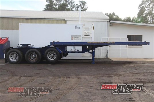 2013 JCE Flat Top Trailer Semi Trailer Sales Pty Ltd - Trailers for Sale