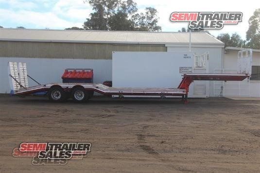 1982 Lombardi Drop Deck Trailer Semi Trailer Sales Pty Ltd - Trailers for Sale