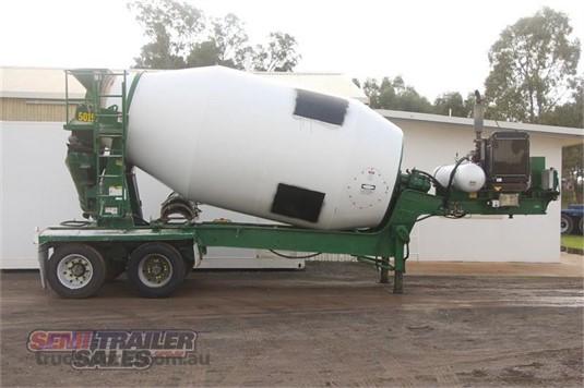 1999 Hamelex White Concrete Agitator Trailer - Trailers for Sale