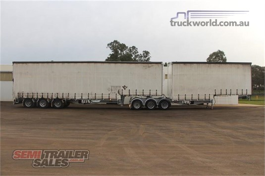 2009 Vawdrey Curtainsider Trailer - Trailers for Sale