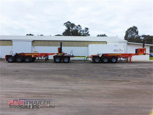 2005 Barker Skeletal Trailer - Trailers for Sale