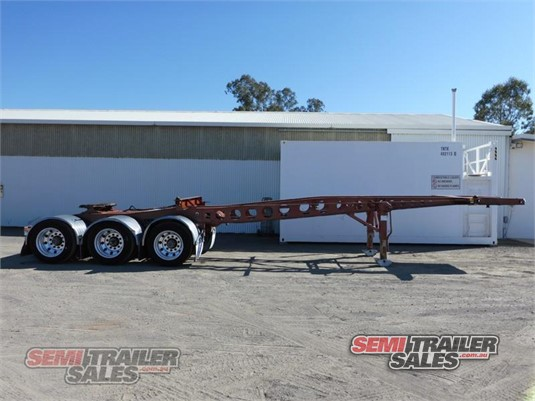 2011 Maxitrans Skeletal Trailer Semi Trailer Sales Pty Ltd - Trailers for Sale