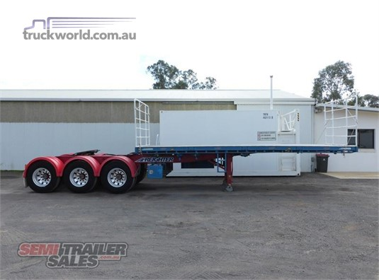 2008 Maxitrans Flat Top Trailer - Trailers for Sale
