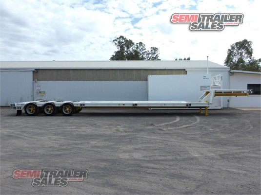 2007 Krueger Drop Deck Trailer Semi Trailer Sales Pty Ltd - Trailers for Sale