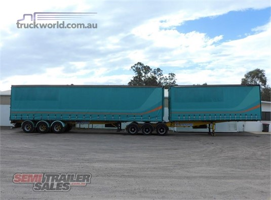 1996 Freighter Curtainsider Trailer - Trailers for Sale