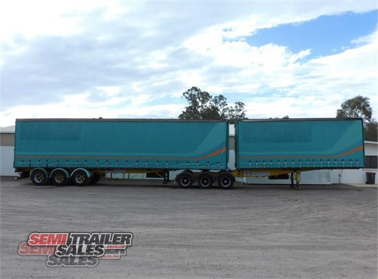 1996 Freighter Curtainsider Trailer Semi Trailer Sales Pty Ltd - Trailers for Sale