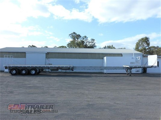 1998 Barker Flat Top Trailer - Trailers for Sale