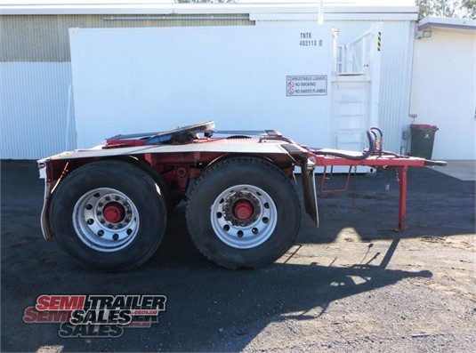 2013 Wese Dolly Semi Trailer Sales Pty Ltd - Trailers for Sale