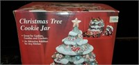 Beautiful Hearthstone Christmas Tree Cookie Jar