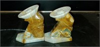Pair of Marble Cowboy Bookends