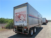 (DMV) Project 34' Refrigeration Trailer