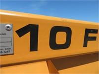 10' Industrias America 4 Way Drag Scraper