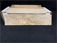 (1) Box of Mesa Beige BullNose Porcelain Tile