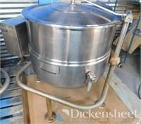 Cleveland Jacketed Steam Tilt Kettle - Model