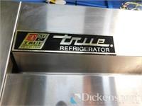 True T-72 3 DoorStainless Steel Reach In Cooler