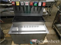 Lancer (8) head soda dispenser w/ cold plate ice