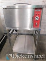 Hobart HSF-3 convection steamer with stand, 3PH.