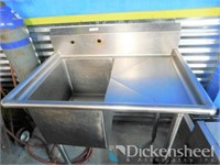 Stainless Steel Vegetable Prep Sink as