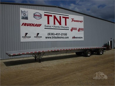 Fontaine Flatbed Trailers For Sale 169 Listings Truckpaper Com Page 1 Of 7