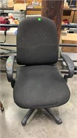 Dusty Black Office Chair