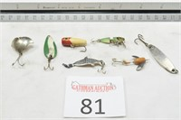 Huge Antique, New Old Stock, & Modern Fishing Goods Auction