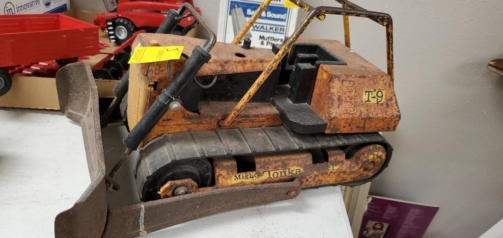 tonka bulldozer hefty auction service heftyauctionservice hibid com