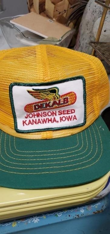dekalb hat johnson seed kanawha ia hefty auction service heftyauctionservice hibid com