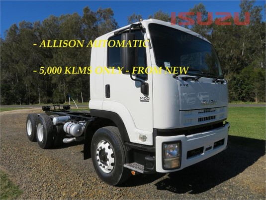 2014 Isuzu FVZ 1400 Auto Used Isuzu Trucks - Trucks for Sale