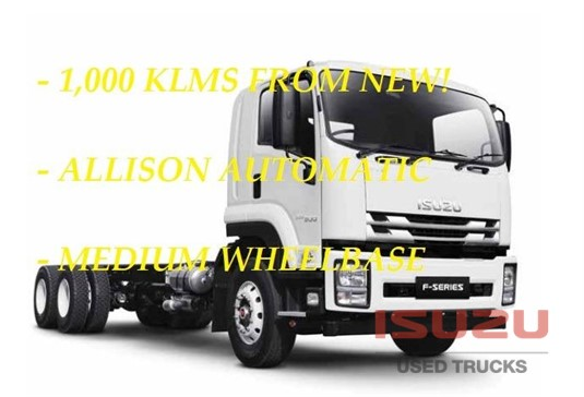 2016 Isuzu FVZ 260-300 AUTO MWB Used Isuzu Trucks - Trucks for Sale