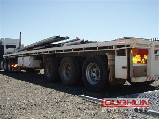 2008 Barker Flat Top Trailer Loughlin Bros Transport Equipment - Trailers for Sale