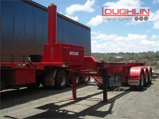 2015 Moore Skeletal Trailer Loughlin Bros Transport Equipment - Trailers for Sale