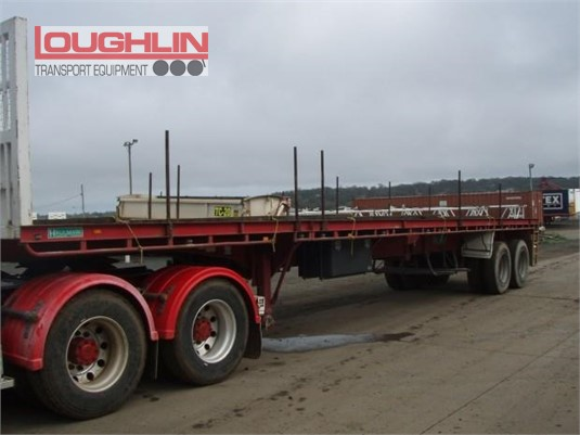 2003 Haulmark Flat Top Trailer Loughlin Bros Transport Equipment - Trailers for Sale
