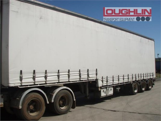 2012 Vawdrey Drop Deck Trailer Loughlin Bros Transport Equipment - Trailers for Sale