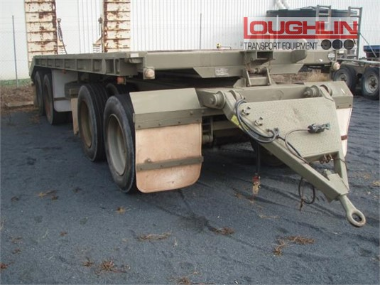1994 Haulmark Flat Top Trailer Loughlin Bros Transport Equipment - Trailers for Sale