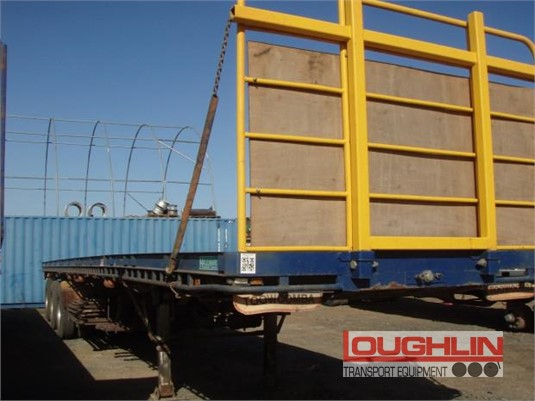 1998 Haulmark Flat Top Trailer Loughlin Bros Transport Equipment - Trailers for Sale