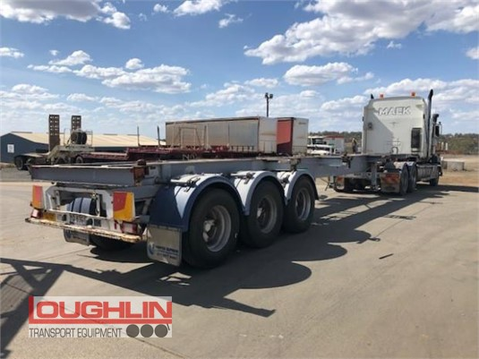 2006 Haulmark Skeletal Trailer Loughlin Bros Transport Equipment - Trailers for Sale