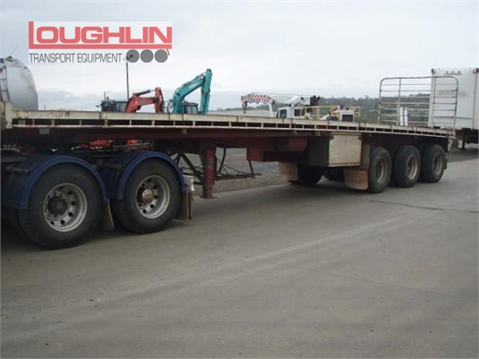2002 Ophee Flat Top Trailer Loughlin Bros Transport Equipment - Trailers for Sale