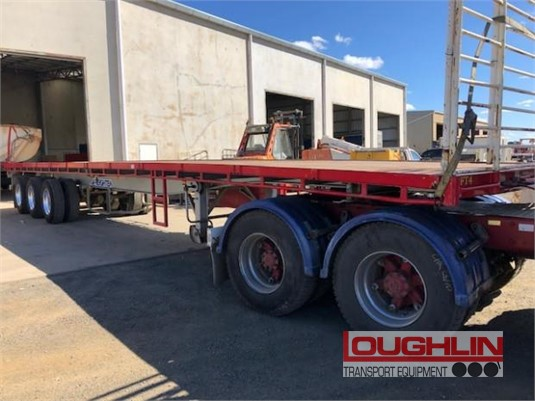 2013 Maxitrans Flat Top Trailer Loughlin Bros Transport Equipment - Trailers for Sale