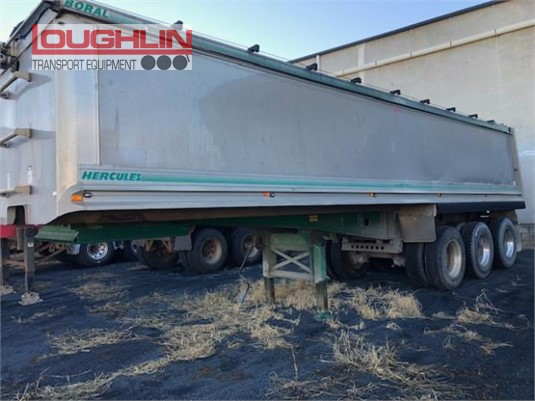 2000 Hercules Tipper Trailer Loughlin Bros Transport Equipment - Trailers for Sale