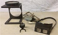 Magnifying Work Stations and Head Lamps