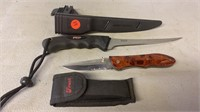 American Angler Knife and Frost Pocket Knife
