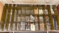 Metal and Plastic Organizing Drawers
